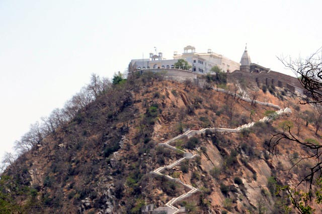 Jain temple in Chulgiri