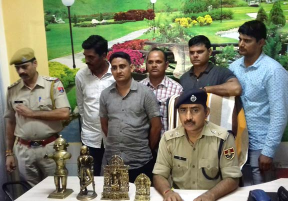 Jain Statue Recovered in udaipur